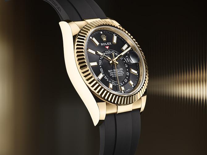 Sky-Dweller - Die Armbanduhr für Weltreisende
